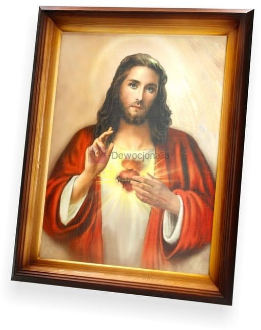 Obraz Serce Jezusa - 47x37