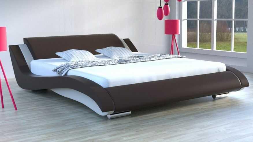 Łóżko do sypialni Stilo-2 Lux Slim LED RgB multikolor