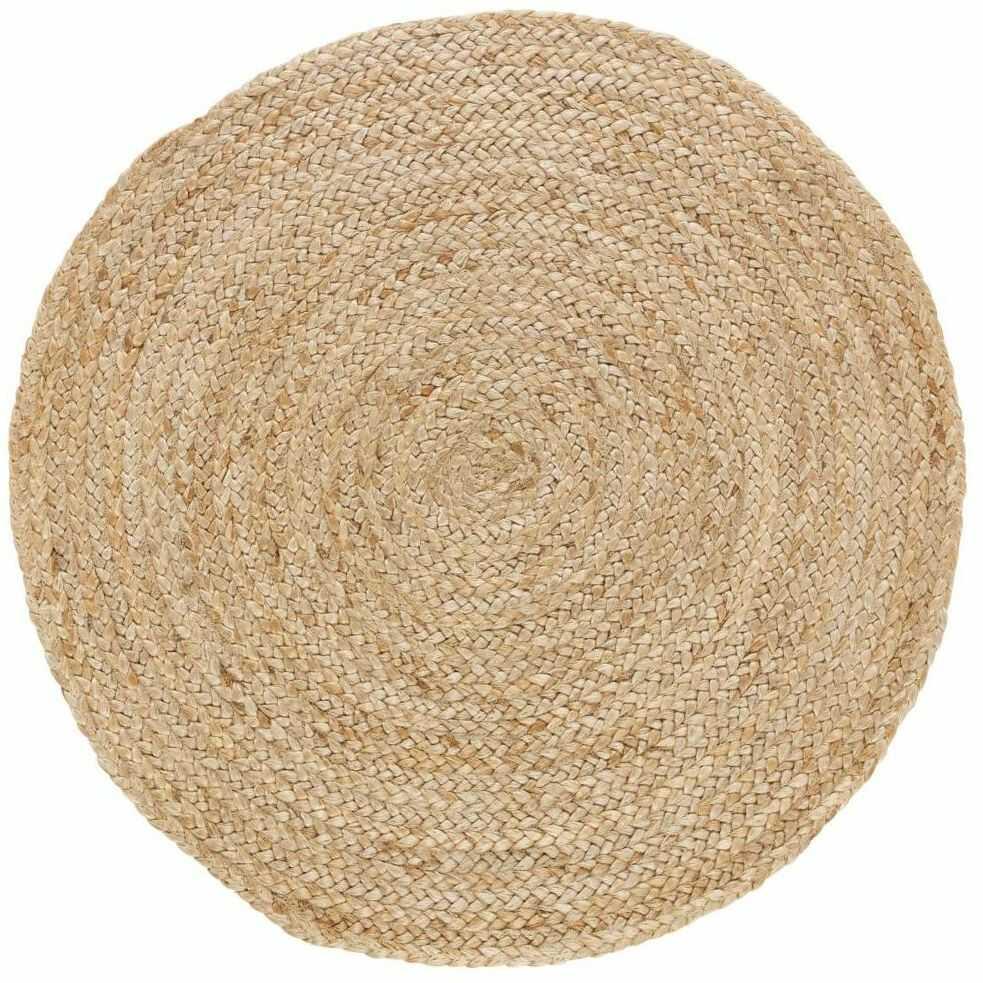 Dywan okrągły z juty śr. 80 cm Inspire