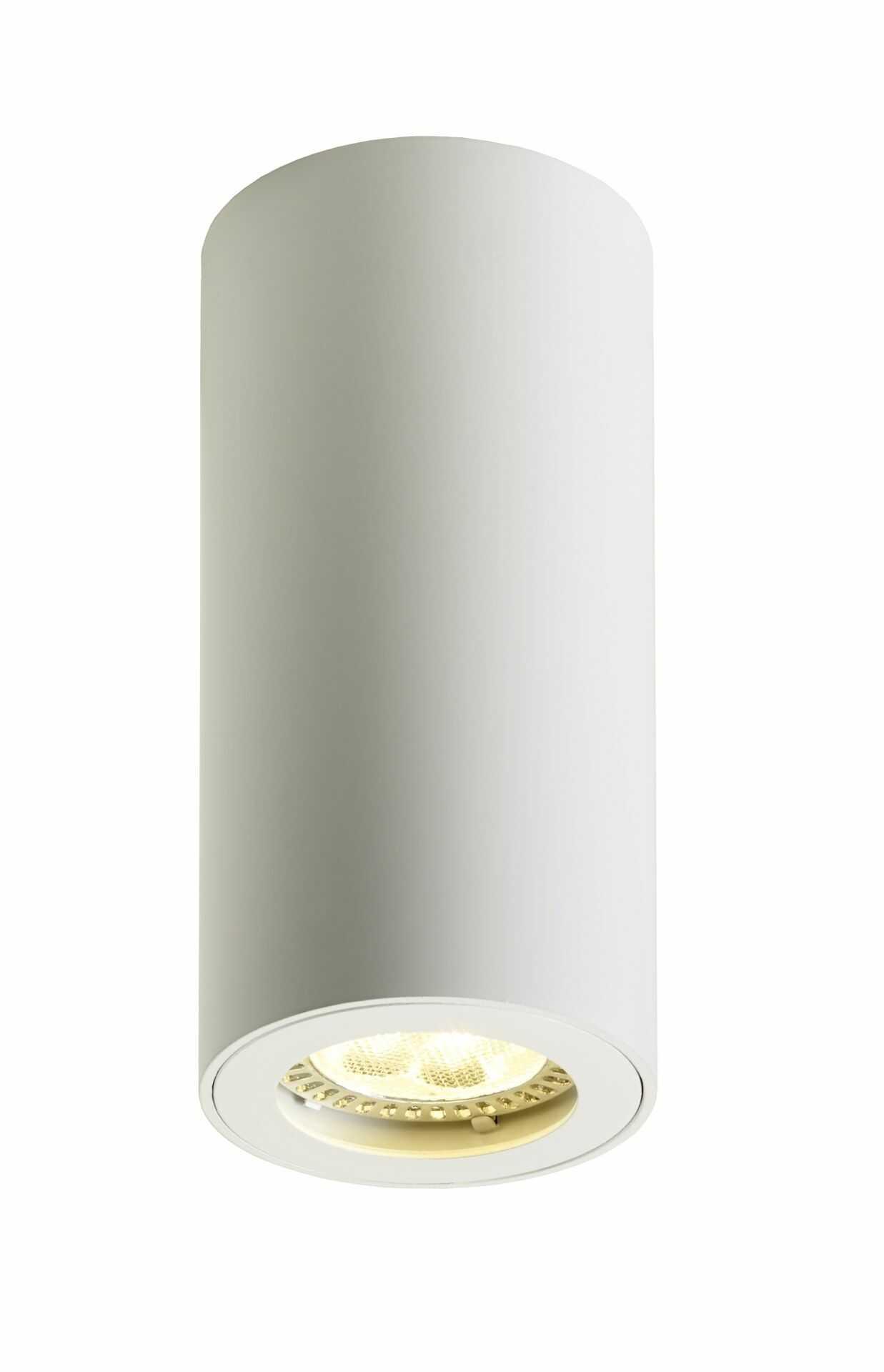 Lampa sufitowa Barlo 13 70021101 oprawa biała tuba Kaspa