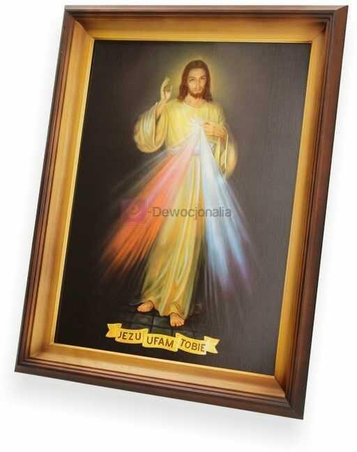 Obraz Jezu Ufam Tobie - 47x37