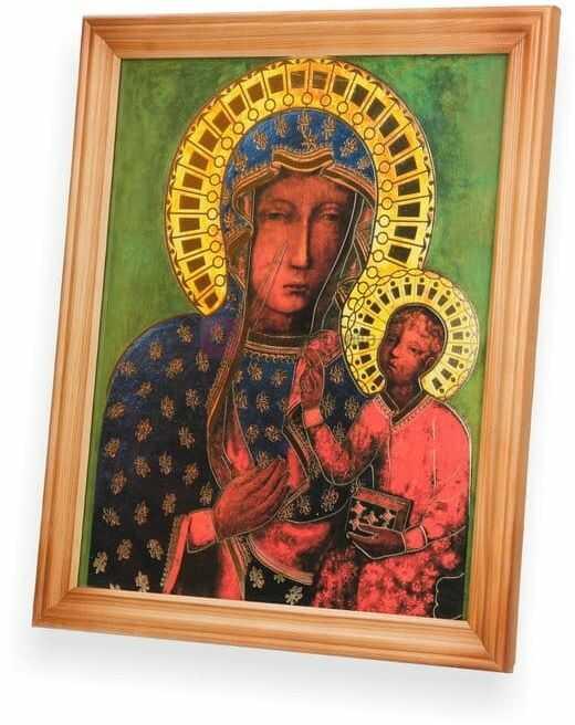 Obraz Matka Boska Częstochowska 27x23