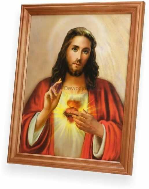Obraz Serce Jezusa 27x23