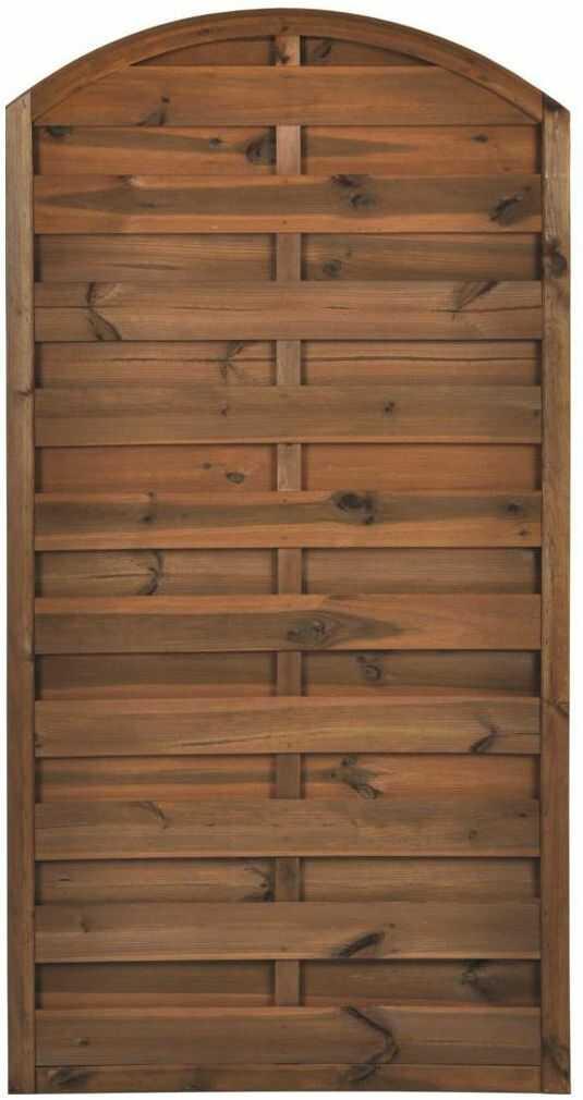 Płot szczelny 90x180 cm drewniany NIVE NATERIAL