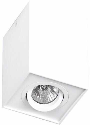 Plafon Basic Square C0070 Maxlight nowoczesna oprawa w kolorze białym