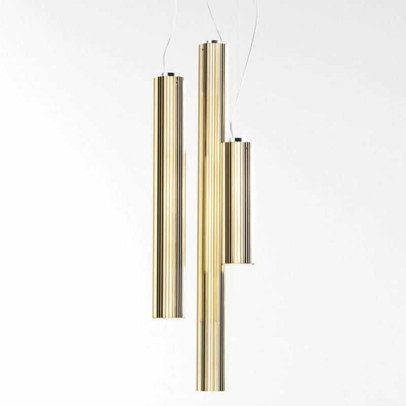 Rifly 60 złoty - Kartell - lampa wisząca