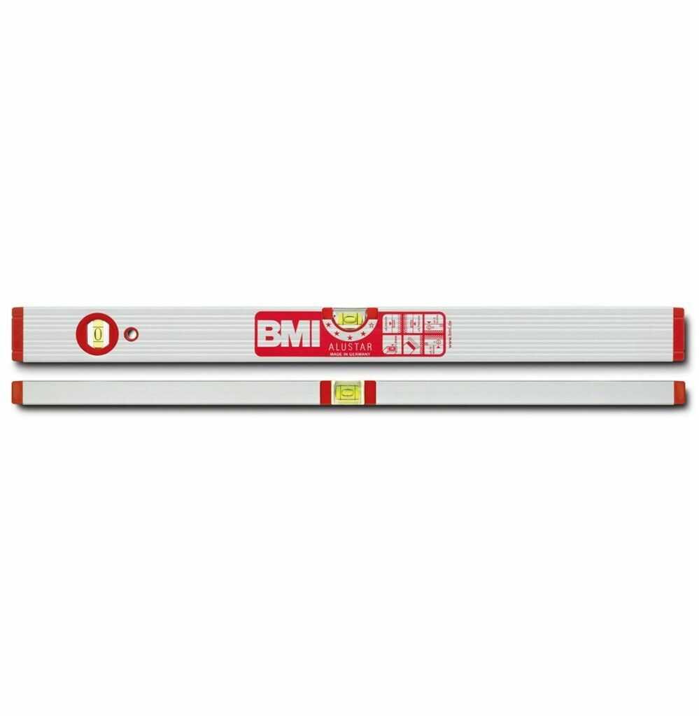 Poziomica BMI ALUSTAR 150cm, wzmacniana