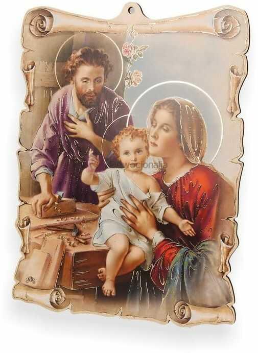 Obrazek pastelowy - Święta Rodzina