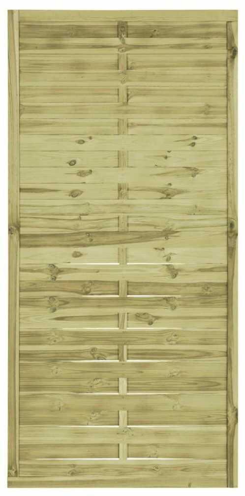 Płot lamelowy 90x180 cm drewniany STELMET