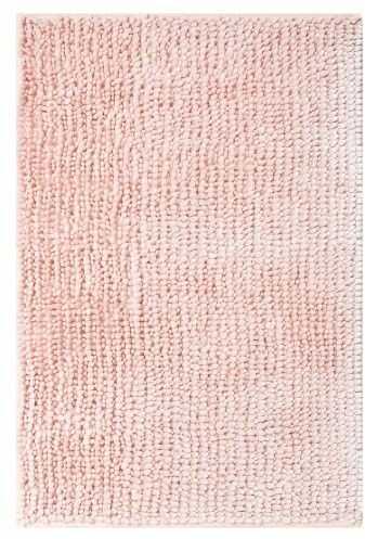 Dywanik łazienkowy SHINY chenille róż