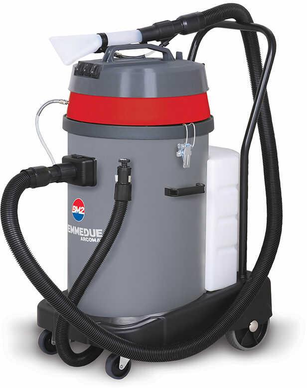 BIEMMEDUE EX80 P profesjonalny odkurzacz dwusilnikowy piorący ekstrakcyjny zbiornik polipropylen