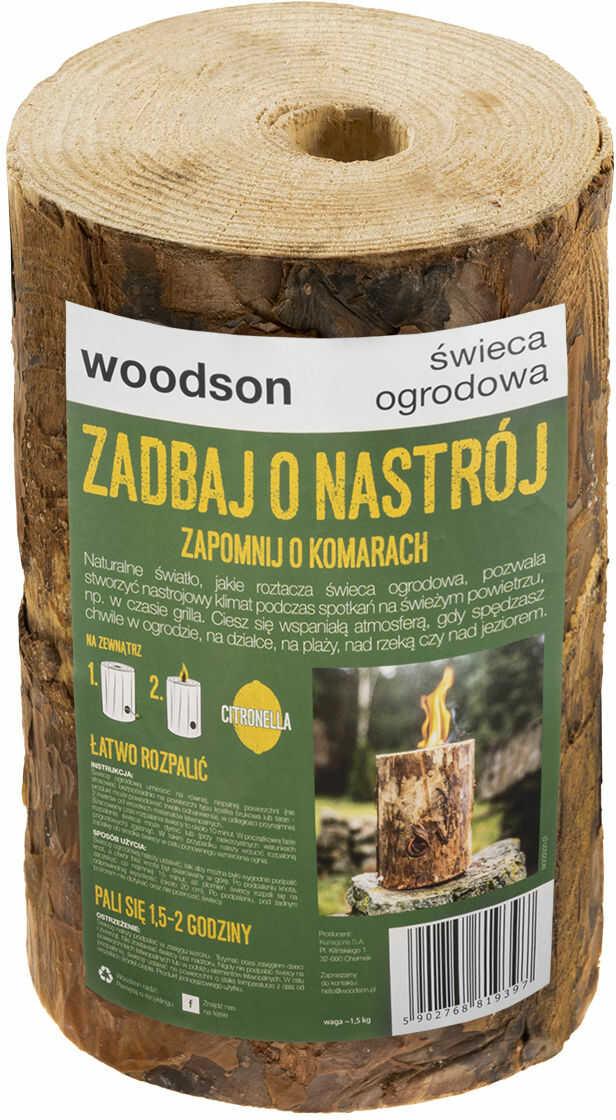 Świeca ogrodowa Woodson Citronella (W07PL)