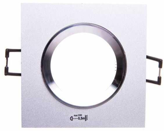 Oprawa punktowa 1x50W GX5,3 IIIkl. 12V IP20 RADAN CT-DSL50 aluminium 07363