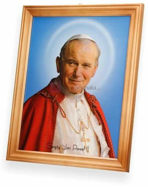 Obraz Święty Jan Paweł II 27x23
