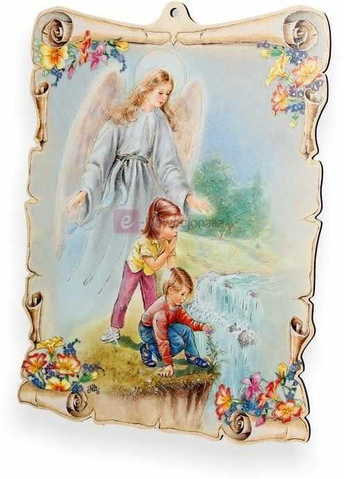 Obrazek pastelowy - Twój Anioł Stróż
