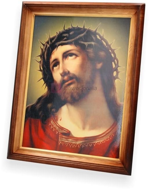 Obraz Jezus Chrystus z cierniem - 47x37