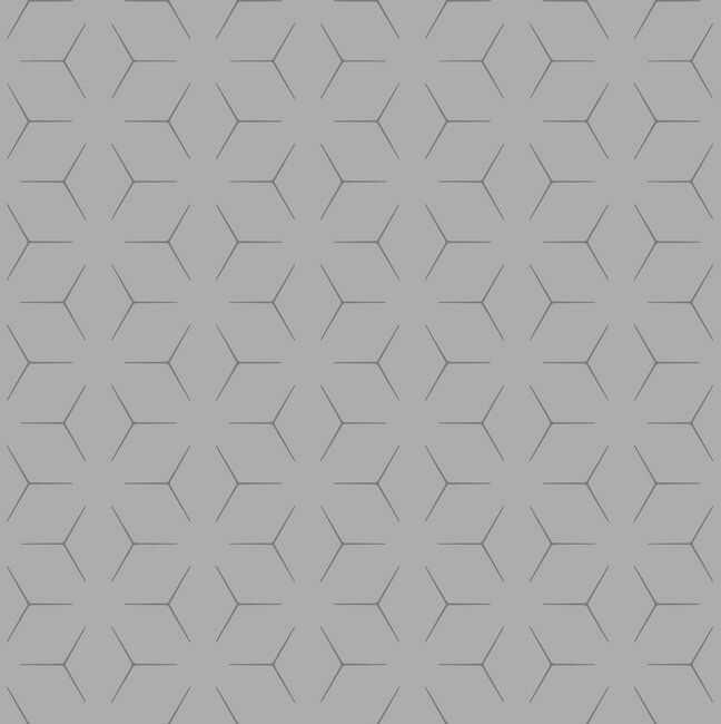 Tapeta papierowa Wandou szaro-srebrna