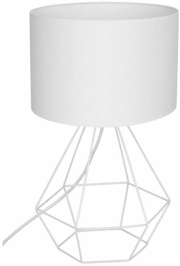 Lampa stołowa ALMA WHITE 1xE27