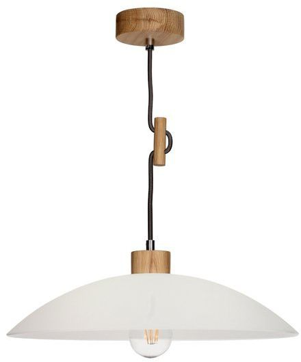 SPOTLIGHT lampa wisząca z drewno dębowe kolor dąb olejowany, 1408174