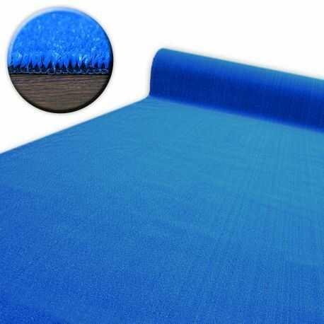 SZTUCZNA TRAWA SPRING niebieska gotowe wymiary 100x200 cm