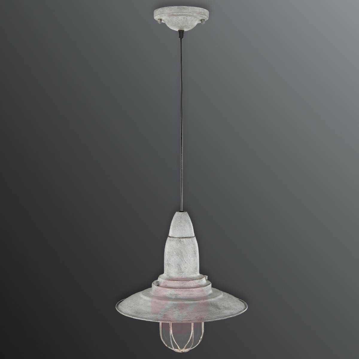 Lampa wisząca Fisherman antyczny szary 1x28W 304500161 Trio