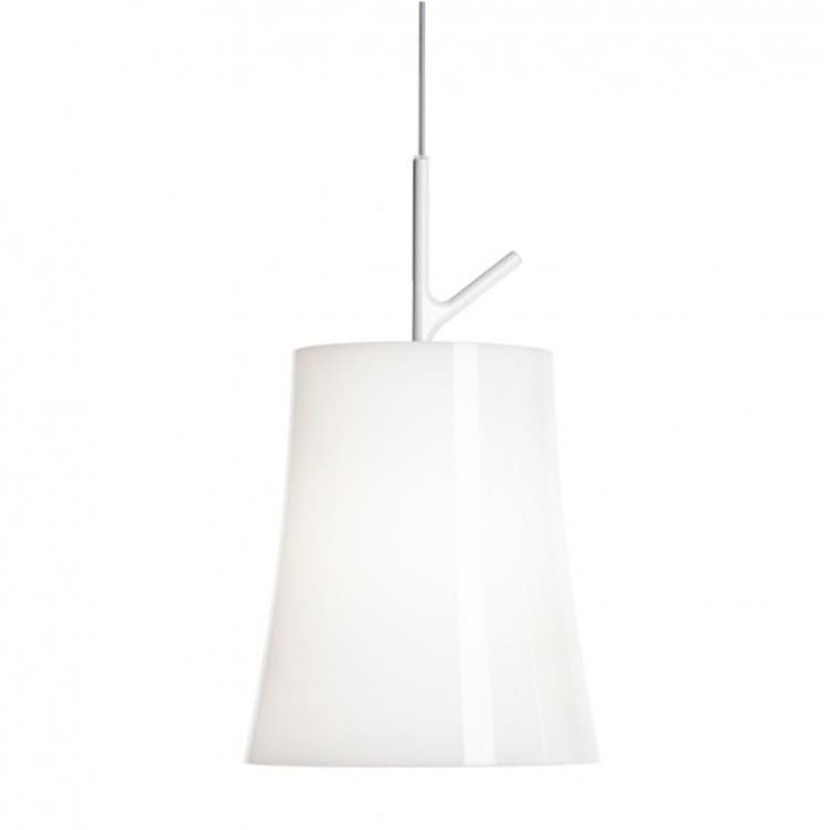 Birdie Grande biały - Foscarini - lampa wisząca