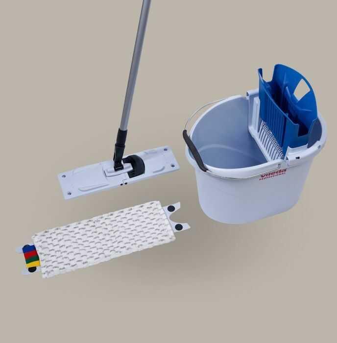 Zestaw Vileda UltraSpeed Mini Starter Kit 10L Wiadro z wyciskarką i mopem płaskim