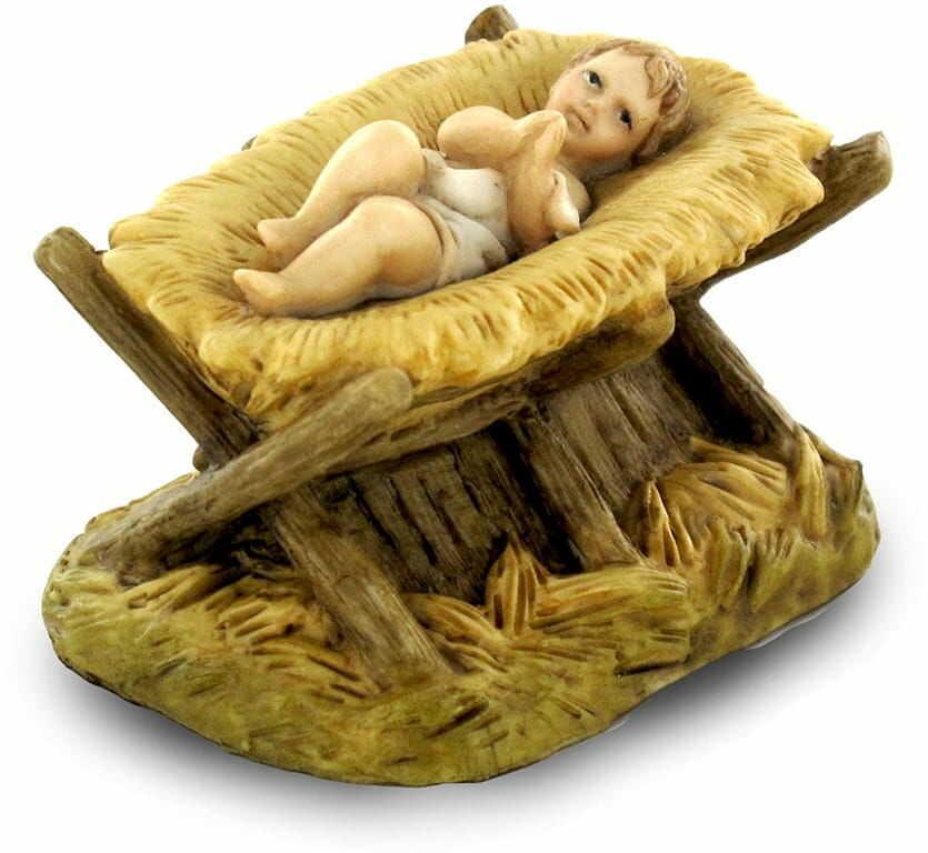 Figurka Dzieciątko w żłóbku, 4 cm