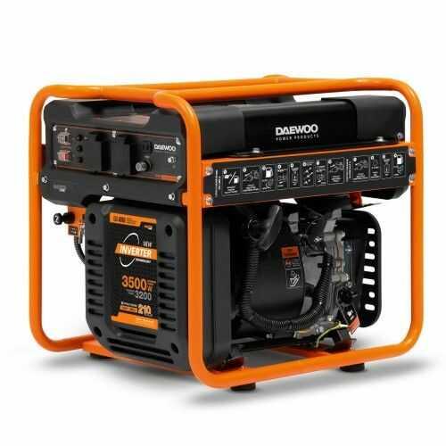 Agregat prądotwórczy inwertorowy DAEWOO GDA 4600i 3,5kW