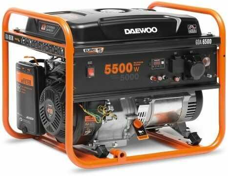 Agregat prądotwórczy DAEWOO GDA 6500 5,5kW AVR 13KM