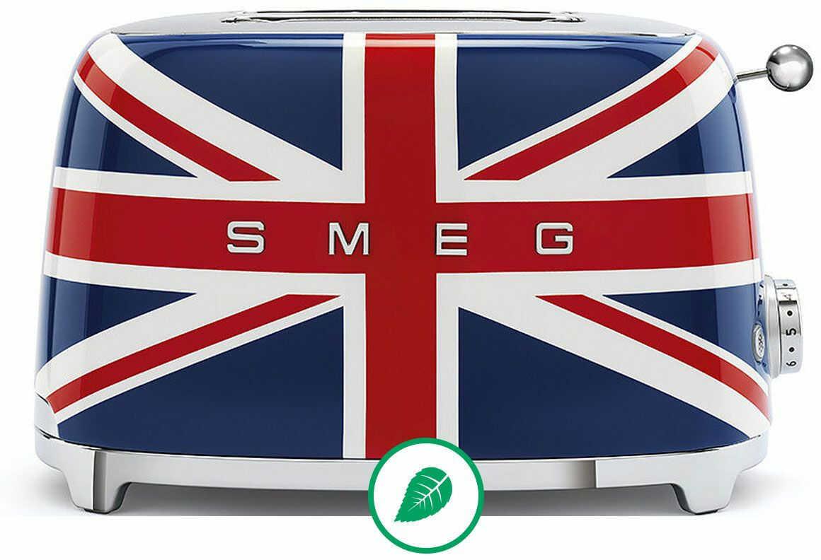 SMEG_Toster TSF01UJEU flaga brytyjska -(22)8777777- Zadzwoń - Darmowa dostawa- Autoryzowany Partner marki SMEG