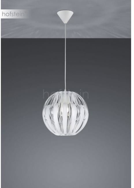 Lampa wisząca Pumpkin biel 1x40W R30472001 Reality