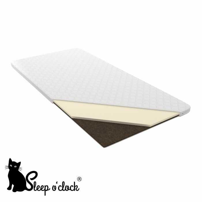 materac nawierzchniowy SLIM sleep o''clock 200x200 H2 + RATY