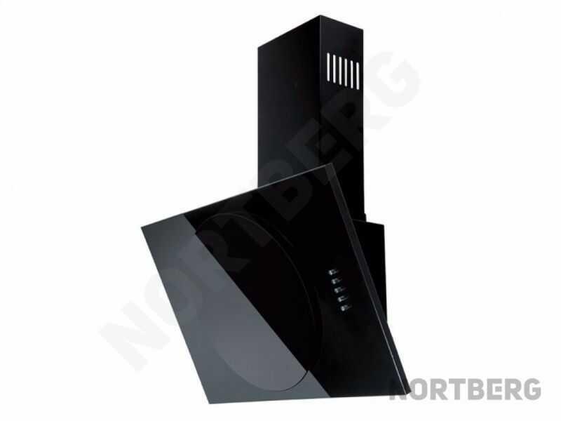 Okap kominowy Vento Black 60 cm