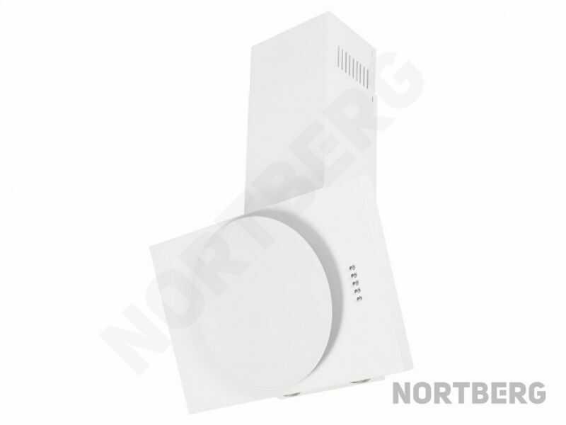 Okap kominowy Vento White 60 cm