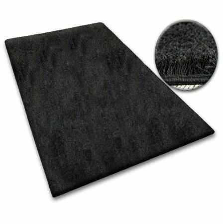Wykładzina SHAGGY 5cm czarny 60x100 cm