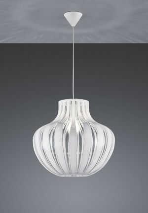Lampa wisząca Pumpkin biel 1x40W R30474501 Reality