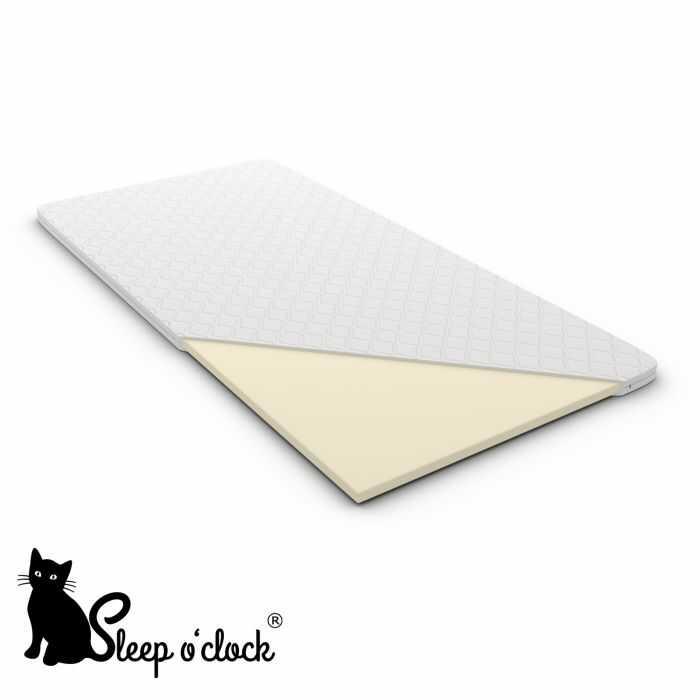 materac nawierzchniowy SOFT sleep o''clock 140x200 H1 + RATY