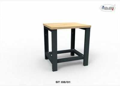 """Stół narzędziowy ST 08/01 """"JEDYNKA"""" warsztat metalowy na klucz"""