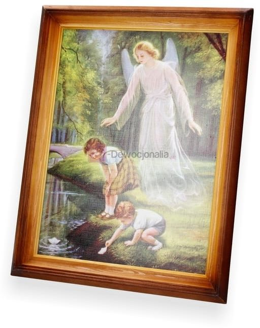 Obraz Dzieci nad strumykiem 47x37