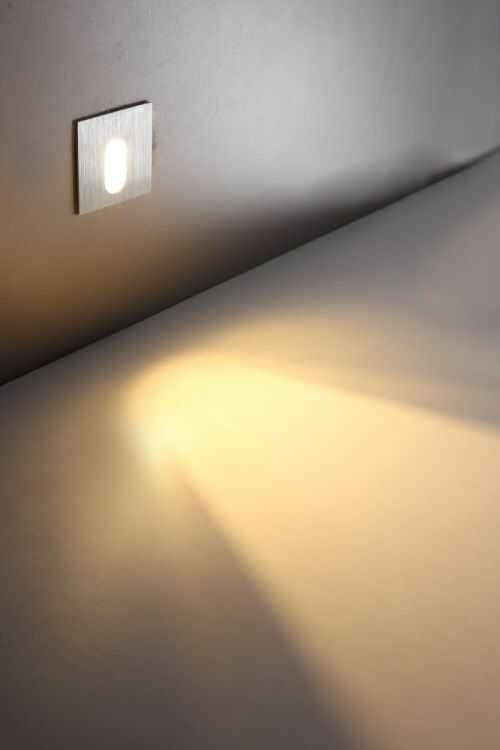 Lampa schodowa minimalistyczna LESEL LED LSL001 nowoczesna oprawa schodowa ELKIM
