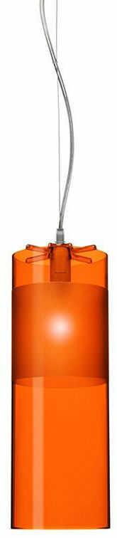 Easy pomarańczowy - Kartell - lampa wisząca