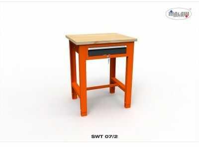 """Stół narzędziowy SWT 07/02 """"JEDYNKA"""" warsztat metalowy na klucz"""