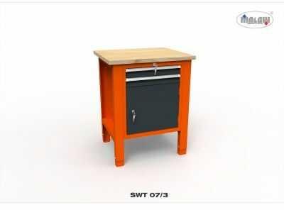 """Stół narzędziowy SWT 07/03 """"JEDYNKA"""" do warsztatu blat roboczy"""