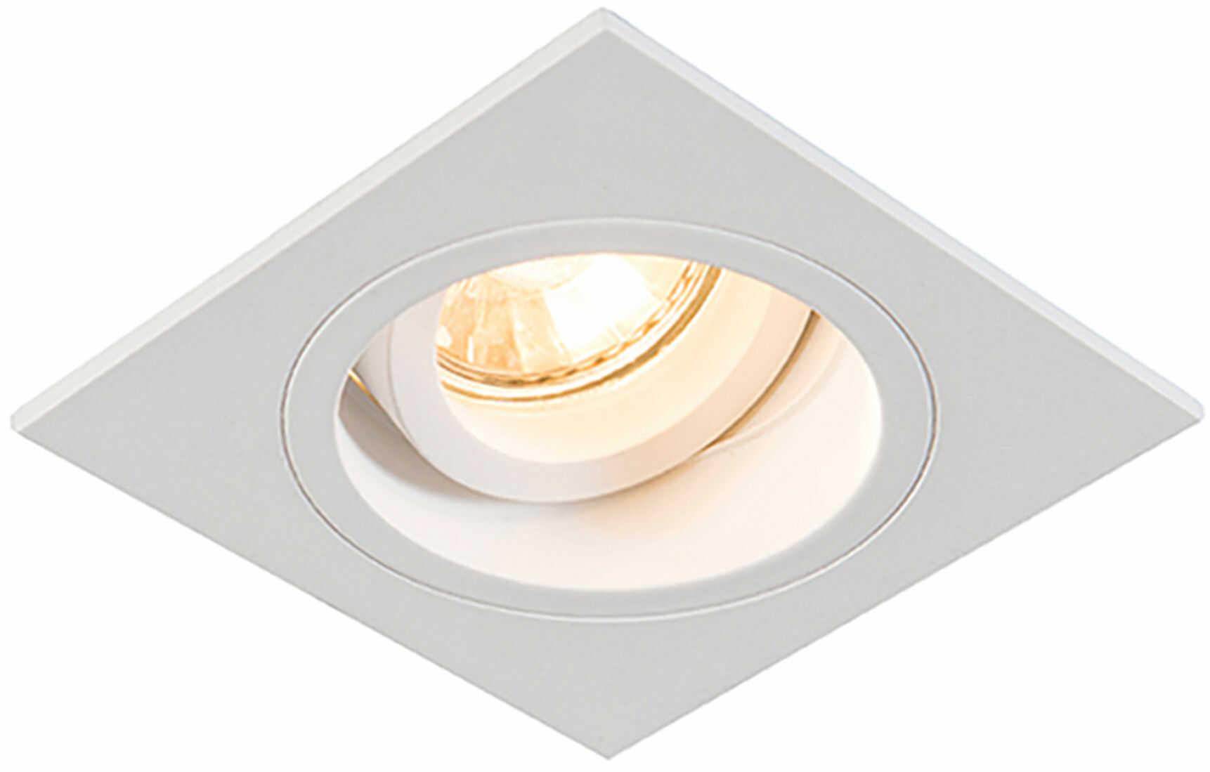 Zuma Line 92703 CHUCK DL SQUARE oprawa oświetleniowa wpuszczana biała GU10 9,2cm