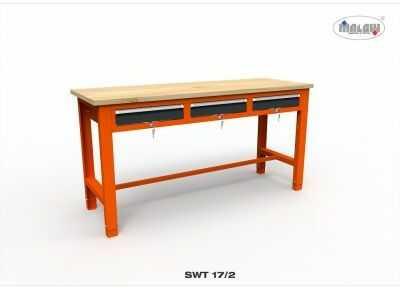 """Stół narzędziowy SWT 17/02 """"TRÓJKA"""" warsztat metalowy narzędzia"""