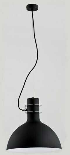 Nowoczesny lampa sufitowa ZINE I czarny śr. 35cm