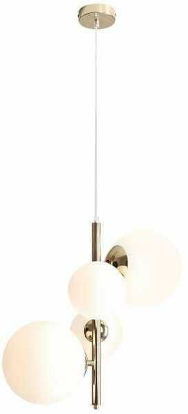 Bloom lampa wisząca 4-punktowa złota 1091L30