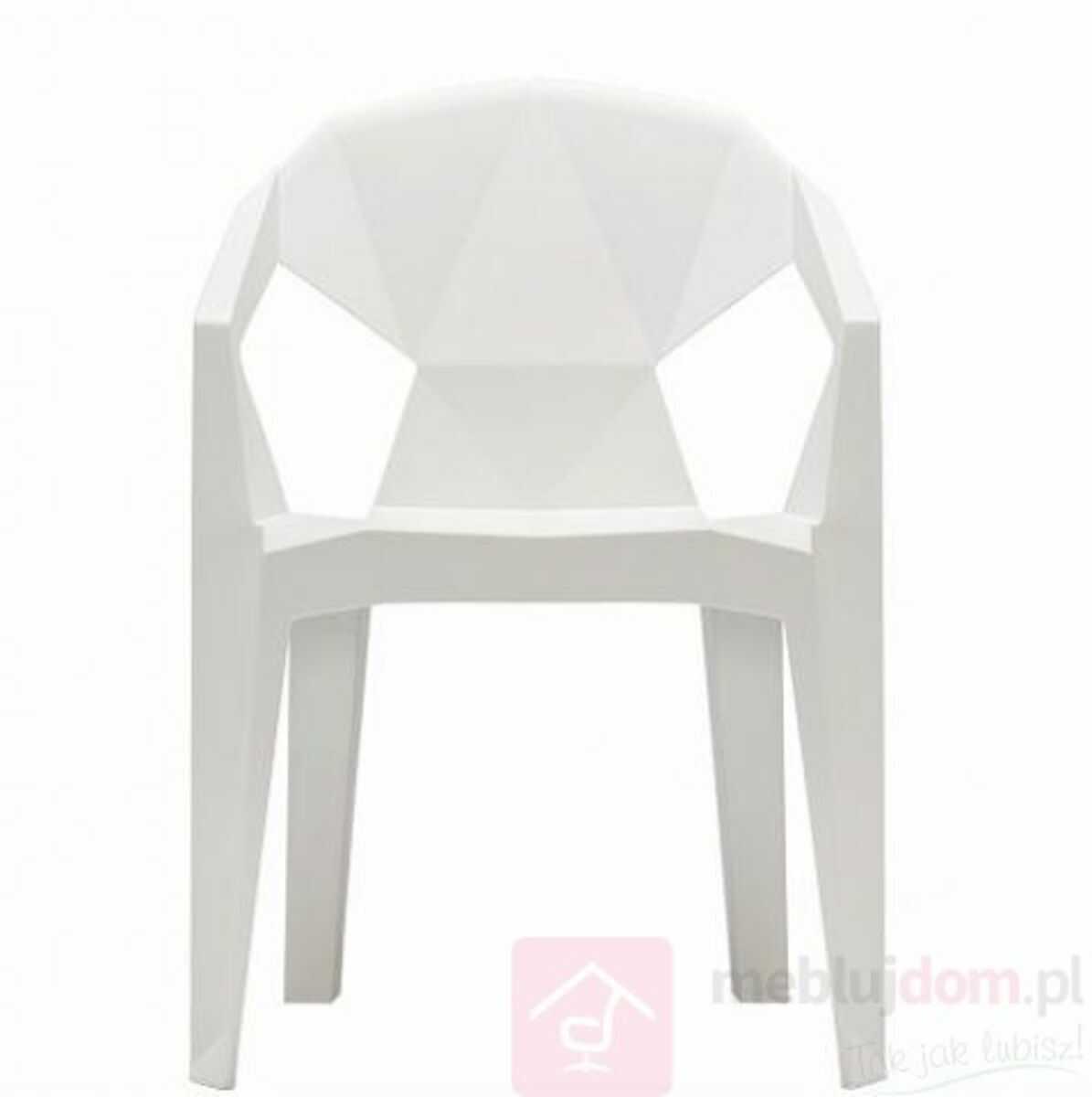 Krzesło MUZE Biały  RABAT na stronie!