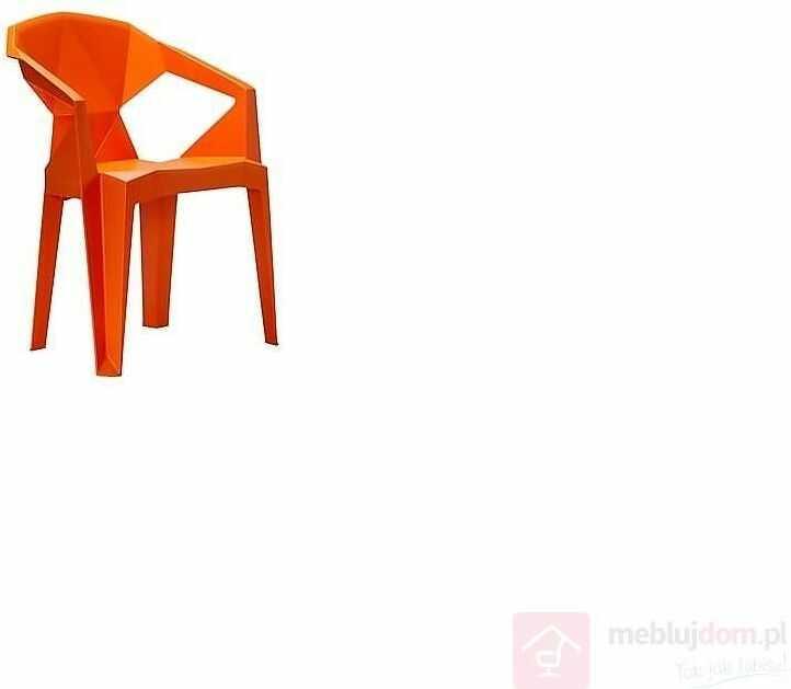 Krzesło MUZE Pomarańczowy  RABAT na stronie!